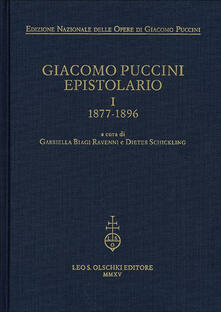 Ascotcamogli.it Giacomo Puccini. Epistolario. Vol. 1: 1877-1896. Image