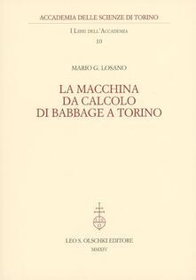 Filippodegasperi.it La macchina da calcolo di Babbage a Torino Image