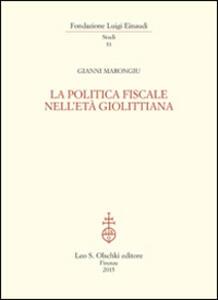 La politica fiscale nell'età giolittiana