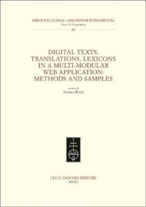 Libro Digital texts, translations, lexicons in a multi-modular web application: methods and samples