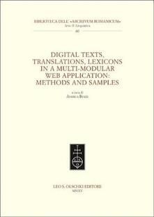 Amatigota.it Digital texts, translations, lexicons in a multi-modular web application: methods and samples Image