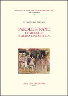 Parole strane. Etimologie e altra linguistica.pdf