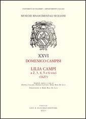 Lilia Campi a 2, 3, 4, 5 e 6 voci (1627)