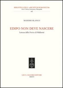 Capturtokyoedition.it Edipo non deve nascere. Lettura delle Poésies di Mallarmé Image