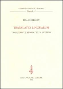 Daddyswing.es Translatio linguarum. Traduzioni e storia della cultura Image