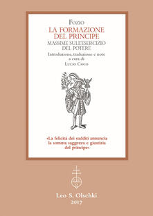 Voluntariadobaleares2014.es La formazione del principe. Massime sull'esercizio del potere Image