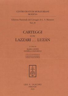 Amatigota.it Edizione nazionale del carteggio di L. A. Muratori. Carteggi con Lazzari... Luzán Image