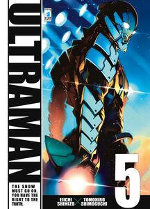 Foto Cover di Ultraman. Vol. 5, Libro di Eiichi Shimizu,Tomohiro Shimoguchi, edito da Star Comics