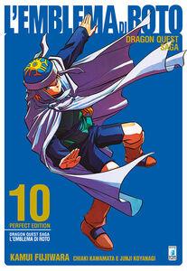 Libro L' emblema di Roto. Perfect edition. Dragon quest saga. Vol. 10 Kamui Fujiwara , Chiaki Kawamata , Junji Koyanagi
