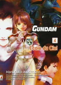 Libro Gundam école du ciel. Vol. 4 Haruhiko Mikimoto