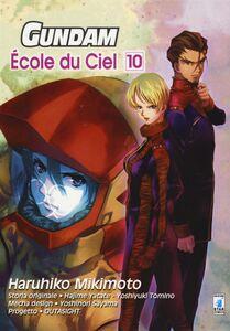 Libro Gundam école du ciel. Vol. 10 Haruhiko Mikimoto
