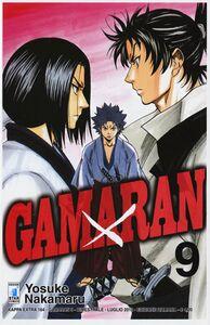 Foto Cover di Gamaran. Vol. 9, Libro di Yosuke Nakamaru, edito da Star Comics