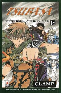 Libro Tsubasa reservoir chronicle. Vol. 18 Clamp