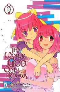 Foto Cover di The world god only knows. Vol. 13, Libro di Tamiki Wakaki, edito da Star Comics