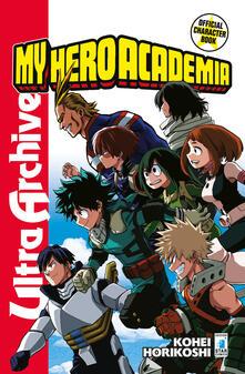Parcoarenas.it My Hero Academia. Official character book ultra archive. Con Adesivi Image