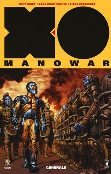 Cocktaillab.it X-0 Manowar. Nuova serie. Vol. 2: Generale. Image