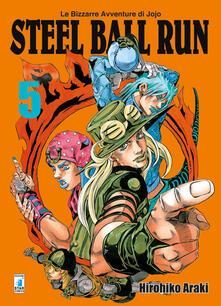 Lpgcsostenible.es Steel ball run. Le bizzarre avventure di Jojo. Vol. 5 Image