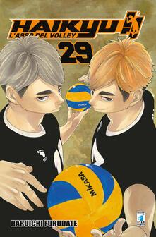 Haikyu!!. Vol. 29 - Haruichi Furudate - copertina