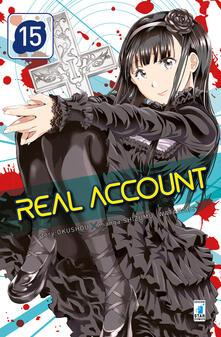 Real account. Vol. 15 - Okushou - copertina