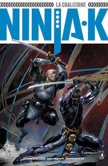 Ninja-K. Vol. 2: coalizione, La. - Christos N. Gage - copertina
