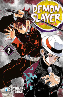 Demon slayer. Kimetsu no yaiba. Vol. 2 - Koyoharu Gotouge - copertina