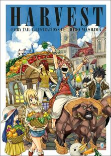 Fairy Tail illustrations. Ediz. a colori. Vol. 2: Harvest. - Hiro Mashima - copertina