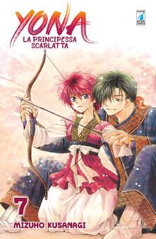 Yona la principessa scarlatta. Vol. 7 - Mizuho Kusanagi - copertina