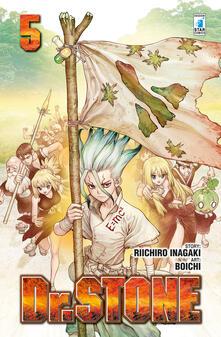 Dr. Stone. Vol. 5 - Riichiro Inagaki - copertina