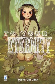 To your eternity. Vol. 2 - Yoshitoki Oima - copertina