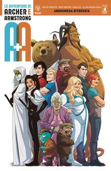 Lpgcsostenible.es A+A. Le avventure di Archer e Armstrong. Vol. 3: Andromeda ritrovata. Image