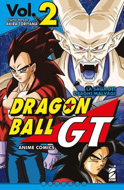 Dragon Ball GT Anime Comics: La Saga dei Draghi Malvagi 2