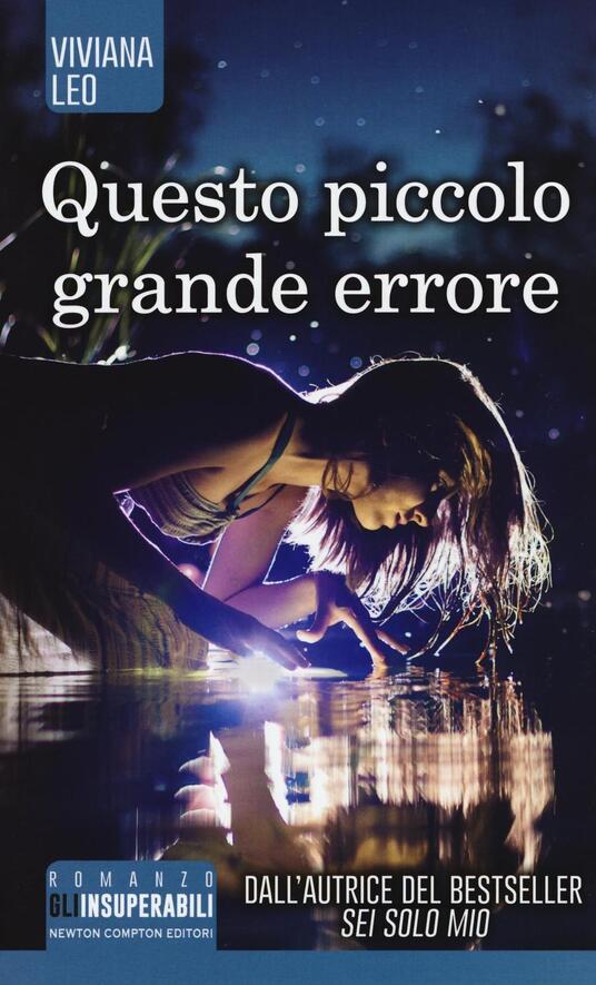 Questo piccolo grande errore - Viviana Leo - copertina