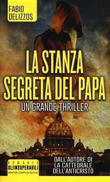 La stanza segreta del papa - Fabio Delizzos - copertina