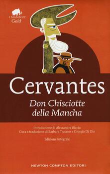 Don Chisciotte della Mancha. Ediz. integrale - Miguel de Cervantes - copertina