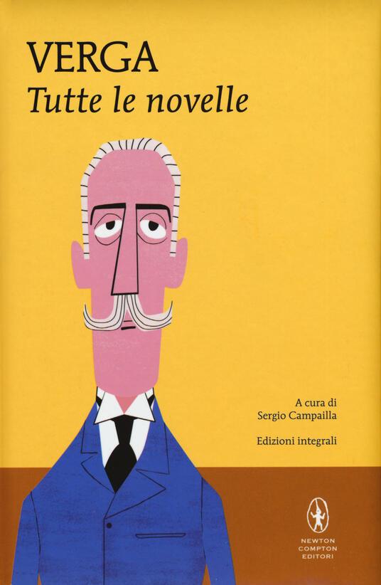 Tutte le novelle. Ediz. integrale - Giovanni Verga - copertina