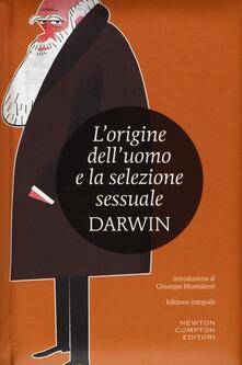 L' origine dell'uomo e la selezione sessuale. Ediz. integrale - Charles Darwin - copertina