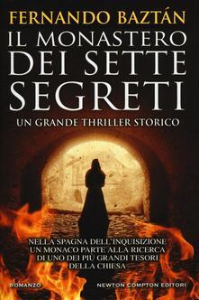Il monastero dei sette segreti - Fernando Baztán - copertina