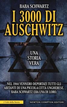 I 3000 di Auschwitz - Baba Schwartz - copertina