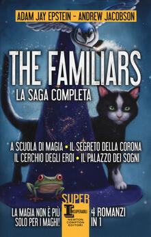 Filippodegasperi.it The Familiars: A scuola di magia-Il segreto della corona-Il cerchio degli eroi-Il palazzo dei sogni Image