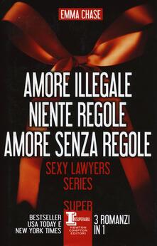 Antondemarirreguera.es Sexy lawyers series: Amore illegale-Niente regole-Amore senza regole Image