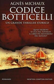 Codice Botticelli - Agnès Michaux - copertina