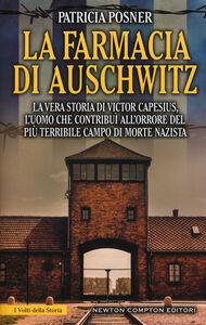 Libro La farmacia di Auschwitz Patricia Posner