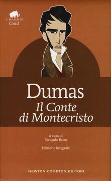 Il conte di Montecristo. Ediz. integrale - Alexandre Dumas - copertina