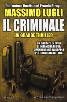 Il criminale - Massimo Lugli - copertina