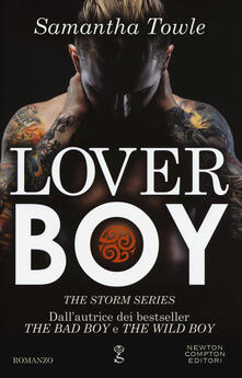 Lover boy. The Storm series - Samantha Towle - copertina