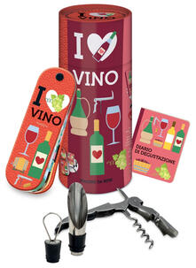 Winniearcher.com I love vino. Piacere da bere. Con gadget Image