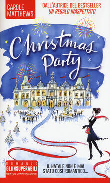 Christmas party - Carole Matthews - copertina