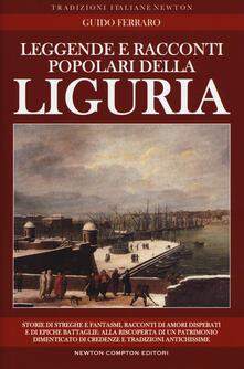Leggende e racconti popolari della Liguria - Guido Ferraro - copertina