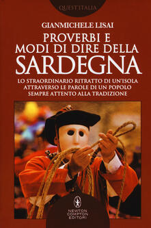 Proverbi e modi di dire della Sardegna - Gianmichele Lisai - copertina