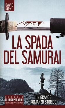 La spada del samurai - David Kirk - copertina